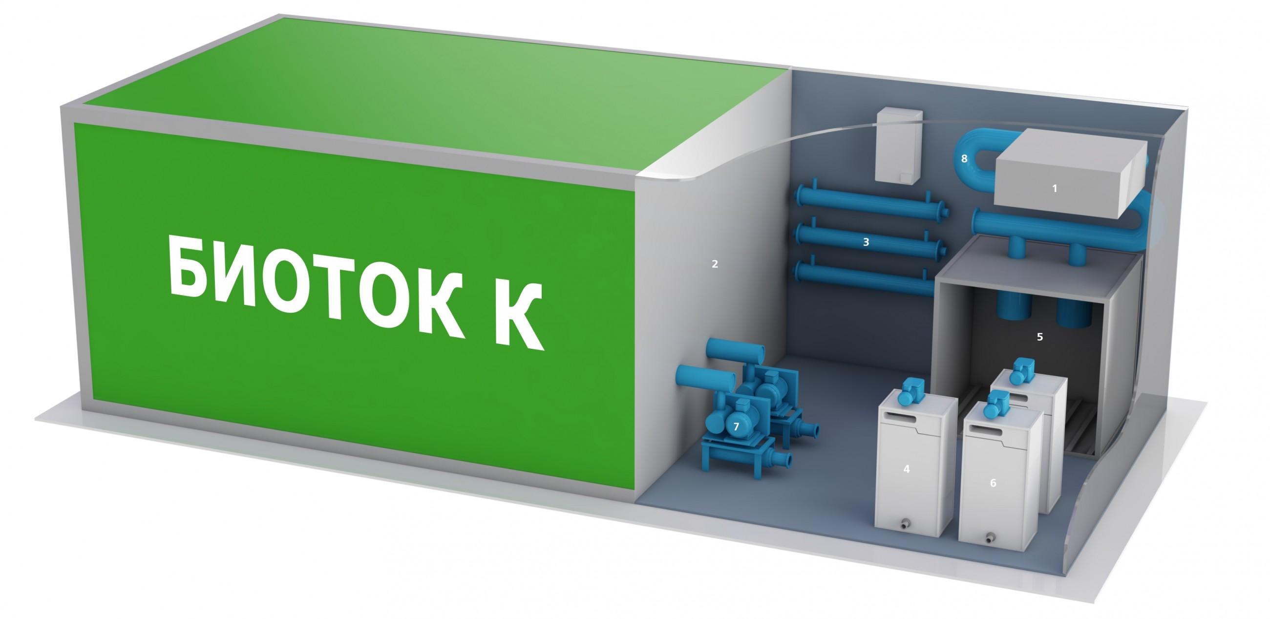 Схемы установки очистных сооружений